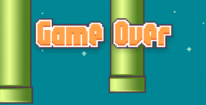 Fim do Flappy Bird